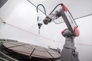 mecanizado con robot 1
