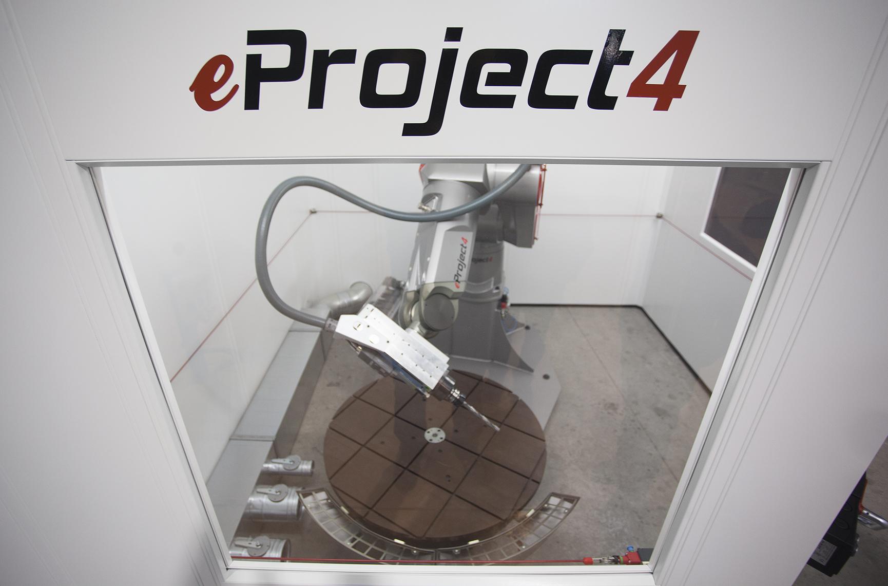 mecanizado con robot 2